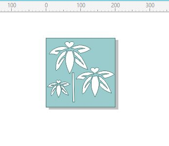 F002 stencil flower 200 x 200 mm min buy 3