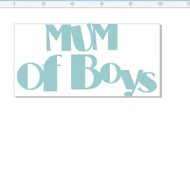 Mum o fboys 100 x 50mm  minimum buy of 3   priced individually